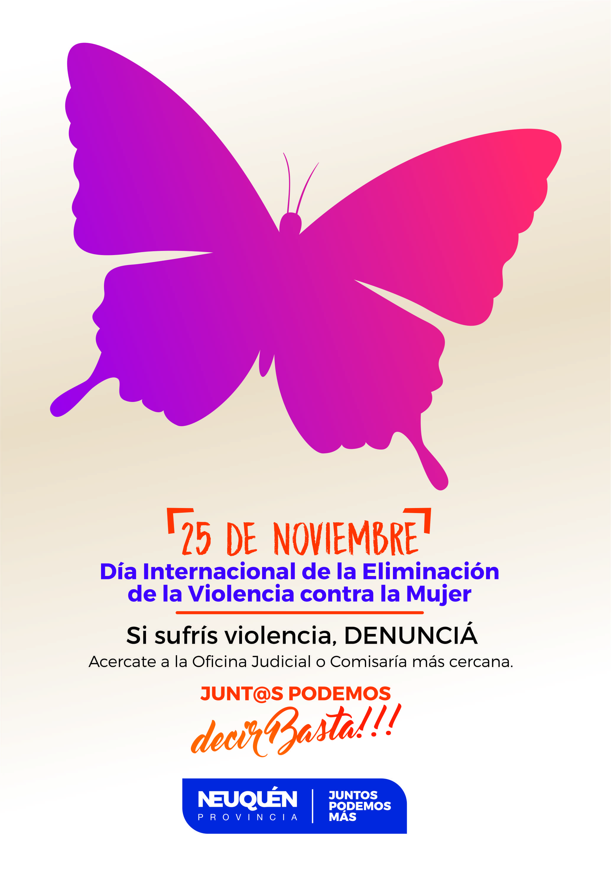 Actividades por la No Violencia de Genero Educacin Neuqun